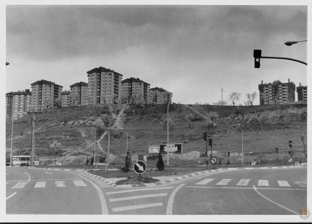 foto antigua ladera parquesol